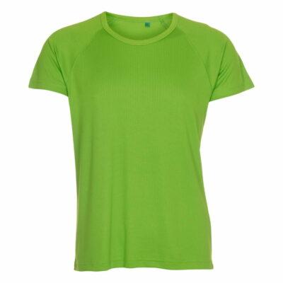 ST307-t-shirt-mand-groen-front-ergosport