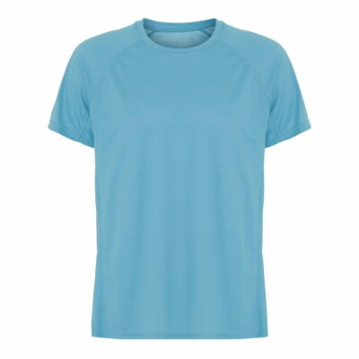 ST350-t-shirt-mand-blaa-front-ergosport